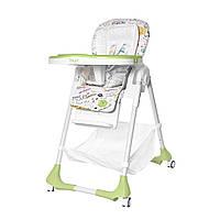 Стульчик для кормления зеленый BABY TILLY Bistro T-641/2 Green деткам от 6 месяцев