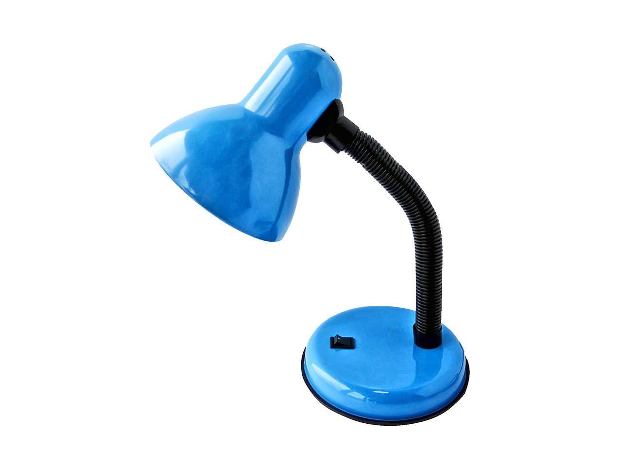 Настольная лампа для школьника Синяя (1666)