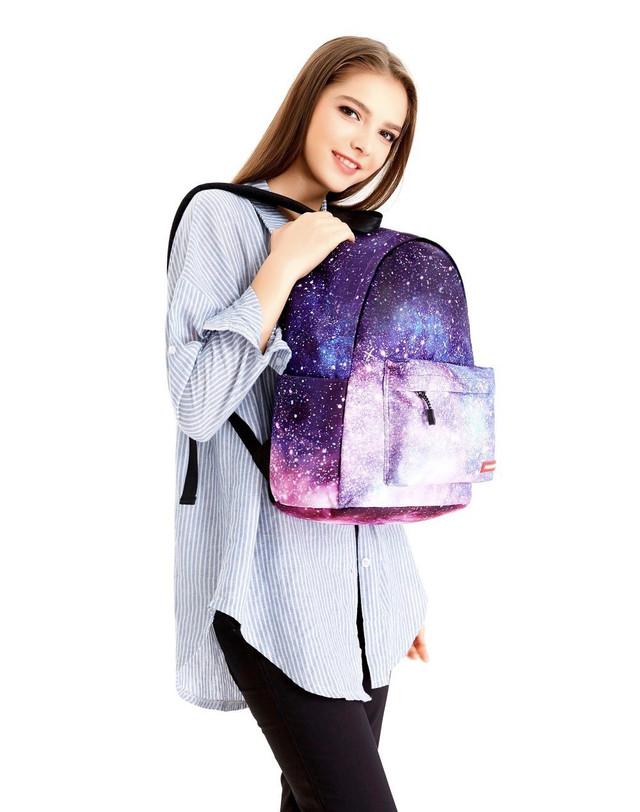 Рюкзак для девушек с космосом