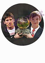 Вафельная картинка Футбол 3
