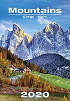 Календарь настенный HELMA 2020 31,5x45 см Mountains
