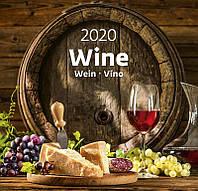 Календарь настенный HELMA 2020 34x32,5 см Wine (N167-20)