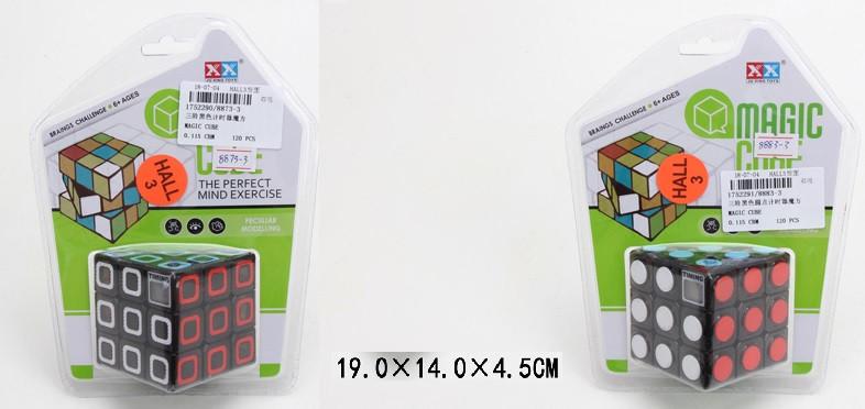 Кубик-логика с таймером,3*3,на блистере 19*14*4,5см /60-2/
