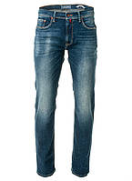 Мужские джинсы синие с потертостями от Pierre Cardin (оригинал)