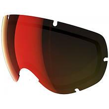 Линза для лыжной маски POC Lobes Spare Lens Persimmon/Red Mirror