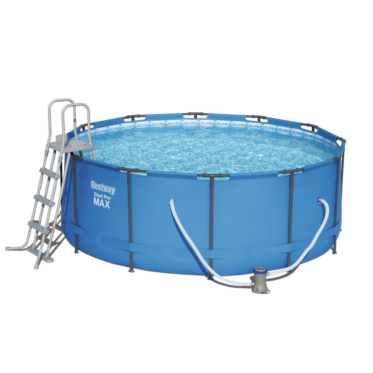 Каркасный бассейн MAX Bestway 15427 - 0, 366 х 133 см