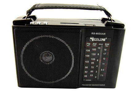Радиоприемник Golon RX 602 Радио am, фото 2