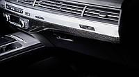 Карбоновые накладки в салон Audi Q7 2016+ г.в.