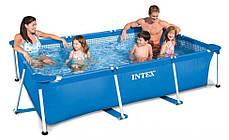 Каркасный бассейн Intex 28272 - 4, 300 х 200 х 75 см (насос-фильтр 2 006 л/ч, тент, подстилка) , фото 2