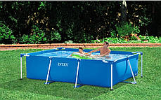 Каркасный бассейн Intex 28272 - 4, 300 х 200 х 75 см (насос-фильтр 2 006 л/ч, тент, подстилка) , фото 3