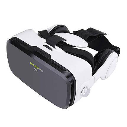 Окуляри віртуальної реальності VR BOX Z4 з навушниками та пультом, фото 2