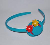 Обруч пластиковый детская шляпка (12шт.)