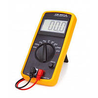 Цифровой мультиметр-тестер DT-CM 9601 Черно-желтый (sp2565)