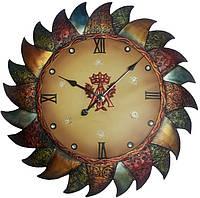 Декоративные настенные часы DA FIRENZE Солнце 79х6см