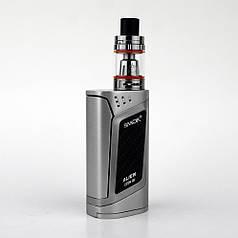 Електронна сигарета SMOK Alien Kit 220W Quality Replica. Вейп. Срібло. Silver Гарантія