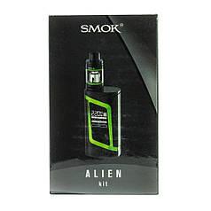 Електронна сигарета SMOK Alien Kit 220W Quality Replica. Вейп. Зелений. Green Гарантія