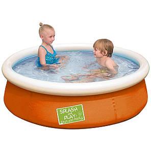 Надувной бассейн Bestway 57241, 152 х 38 см, оранжевый, фото 2