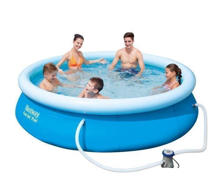 Надувной бассейн Bestway 57270, 305 х 76 см (насос-фильтр 1 250 л/ч)
