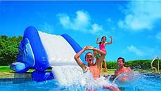 Надувной игровой центр - водная горка Intex 58849 «Water Slide», 333 х 206 х 117 см , фото 2