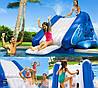 Надувной игровой центр - водная горка Intex 58849 «Water Slide», 333 х 206 х 117 см , фото 4