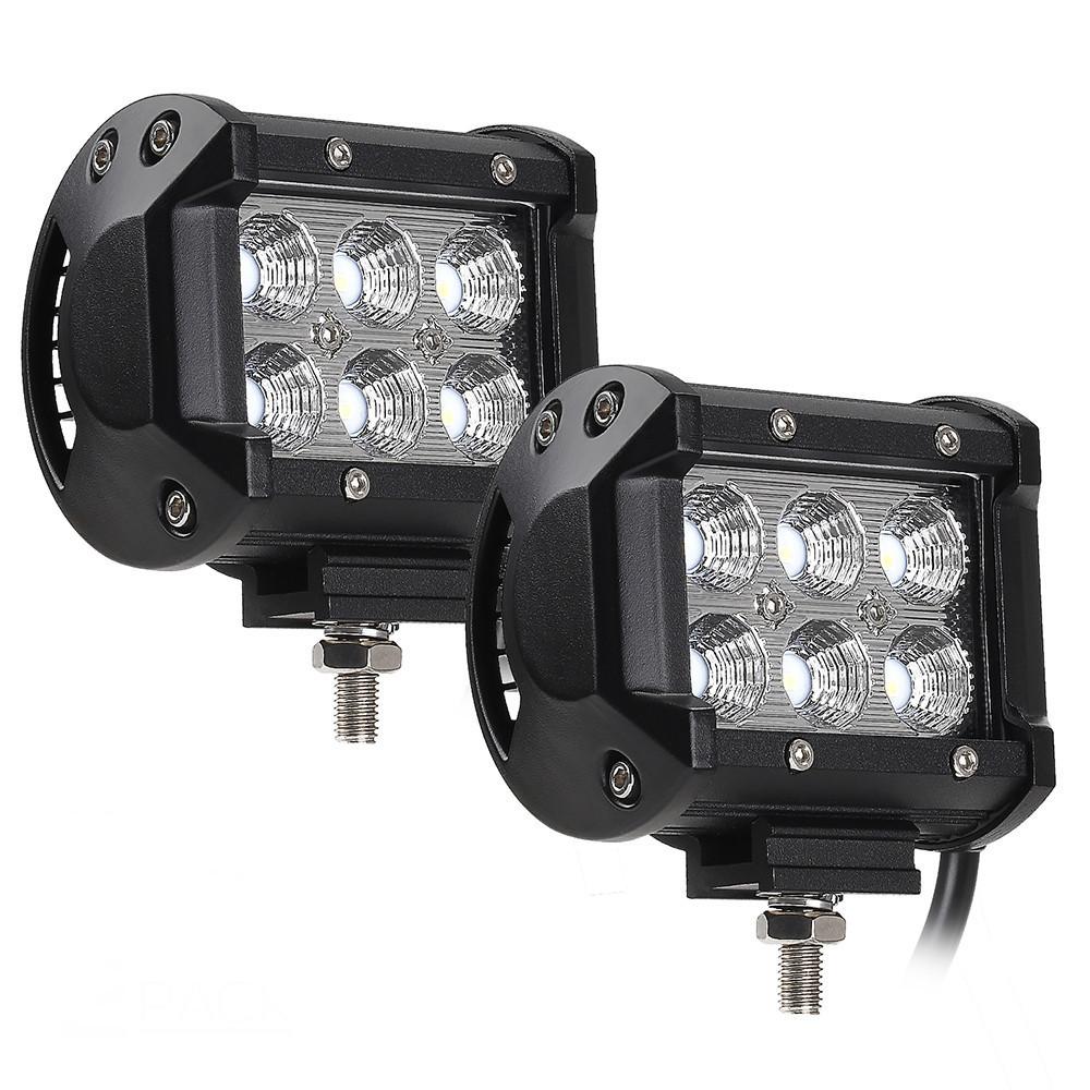 Автофара SPOT LED 5D-18W