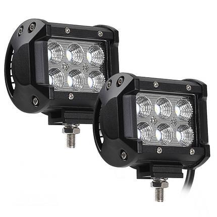 Автофара SPOT LED 5D-18W, фото 2