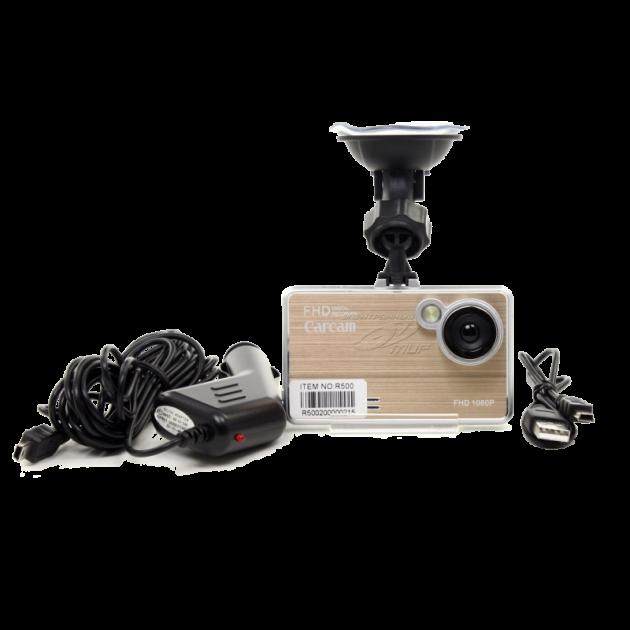Автомобильный видеорегистратор DVR Metal Black