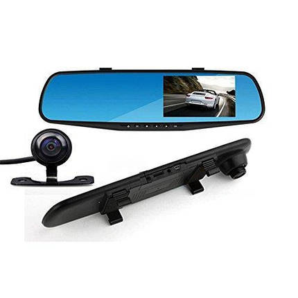 Зеркало регистратор DVR 138W 4.0` одна камера, фото 2
