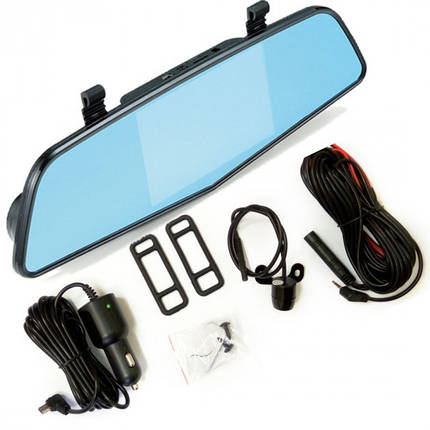 Сенсорное зеркало видеорегистратор XPRO DRIVE Touch с камерой заднего вида, фото 2