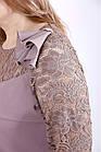 01255-2   Бісквітний костюм: блуза і брюки боьшого розміру 42-74., фото 2