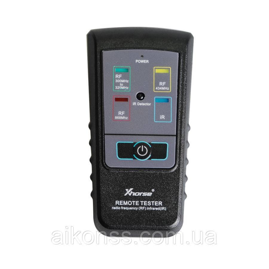 Xhorse Автомобильный тестер ключей для радиочастотного и инфракрасного IR . RF . 300 МГц-320 МГц 434 МГц 868 М
