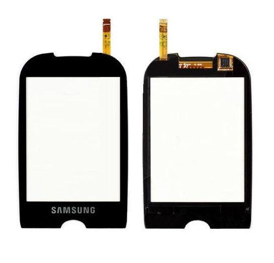 Сенсор (тачскрин) Samsung Corby S3650 Black