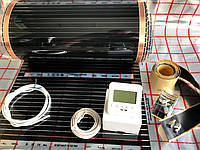 """3м2.Инфракрасный теплый пол """"RexVa"""" (Корея), комплект с программируемым  терморегулятором SET-08"""
