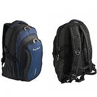 Рюкзак BagHouse 36х47х20 Черно-синий (С332син)
