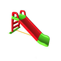 Горка детская для катания Красно-салатовая (0140/01)