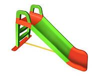 Горка детская для катания Салатово-оранжевая (0140/04)