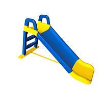 Горка детская для катания Сине-желтая (0140/03)