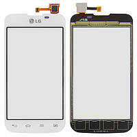 Сенсор (тачскрин) Lg Optimus L5 Dual Sim E455 White