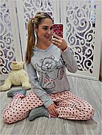 Пижама с длинным рукавом женская Турция 0570