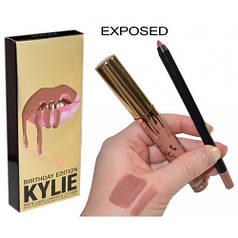 Набор для губ Kylie помада и карандаш 2 в 1