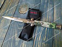 Нож выкидной Стилет 170201-15 испанский Stilet Camo недорогой