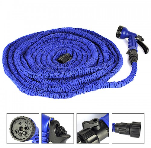 Садовый шланг для полива X-HOSE с распылителем 75м\250FT