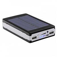 PowerBank на солнечных батареях Solar Power Bank 100000mAh