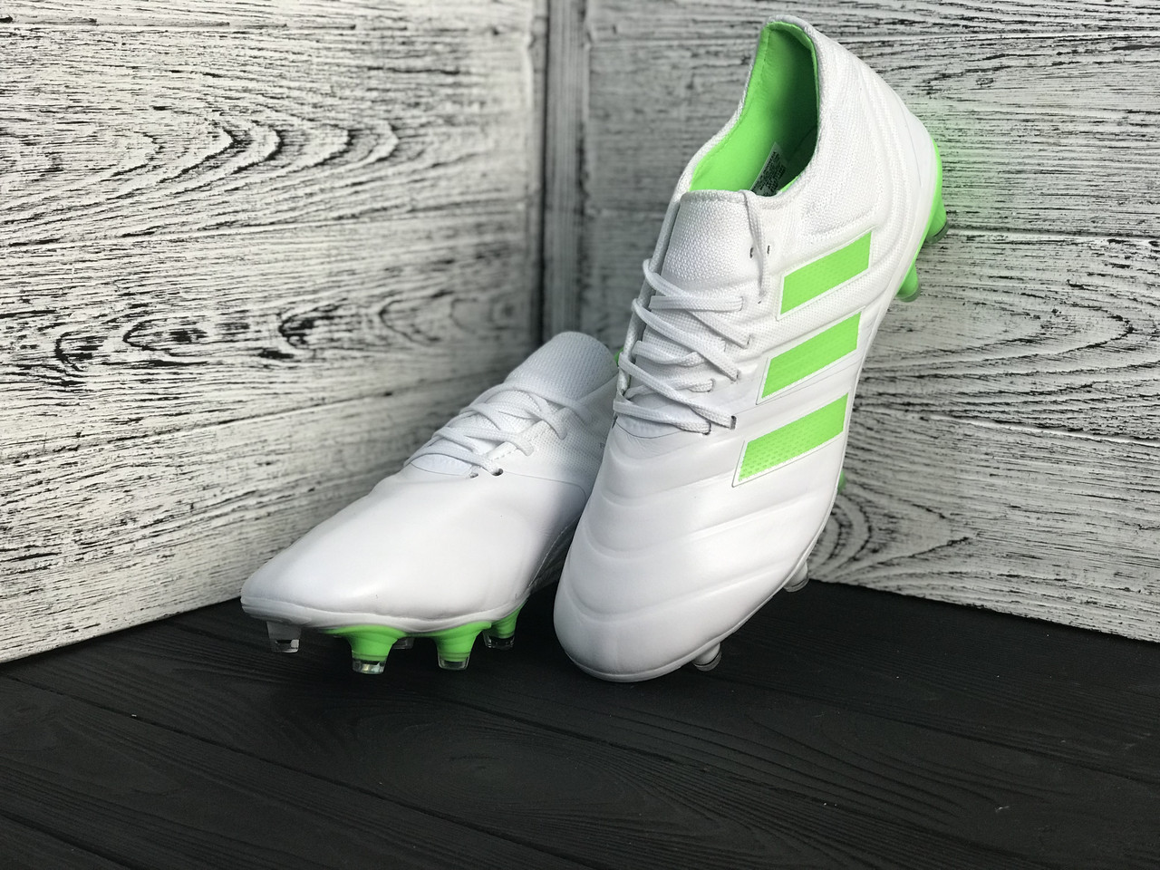 Бутсы Adidas Copa 19+FG/AG White