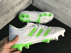Бутсы Adidas Copa 19+FG/AG White, фото 2