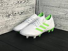 Бутсы Adidas Copa 19+FG/AG White, фото 3