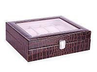 Шкатулка-бокс для хранения часов Veronese 26х20х8 см 801-369, фото 1