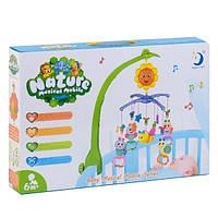 Карусель на детскую кроватку - Мобиль музыкальный Nature 603-3