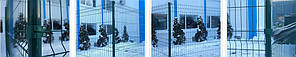 Ограждения «Техна-Эко» d мм 4/3  Размер ячейки 200х50  Размер сеточного полотна 1680х2500, фото 2