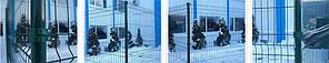Ограждения «Техна-Класик» d мм 4 Размер ячейки 200х50 Размер сеточного полотна 1480х2500, фото 2